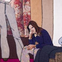 """Exposición """"Bordando su propio firmamento"""" el arte de la astrónoma María Teresa Ruiz vía online"""