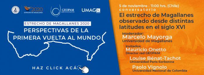Estrecho de Magallanes: Ciclo de charlas reflexionará en torno a la primera vuelta almundo