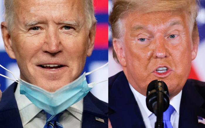 Trump y Biden mantienen diferencias mínimas en los estados decisivos: Nevada, Pensilvania, Carolina del Norte y Georgia