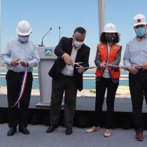 Inauguran obra que da 34 horas de autonomía de agua a Santiago frente a emergencias climáticas