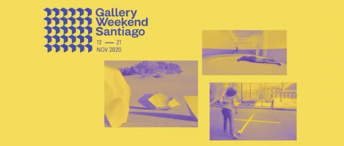 Gallery Weekend Santiago: versión 2020 conectará espacios claves del arte en Latinoamérica
