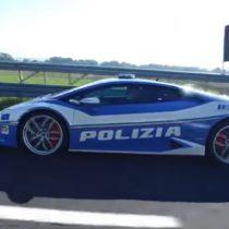 Policía italiana utilizó auto de alta gama para ahorrar tiempo en el transporte de un riñón de Padua a Roma