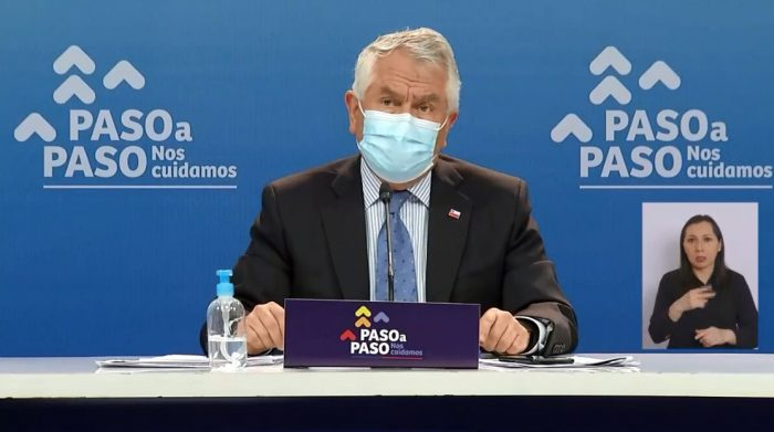 Minsal reporta 2.191 nuevos contagios de Covid-19 en Chile y solo dos regiones disminuyeron sus nuevos casos en últimos siete días