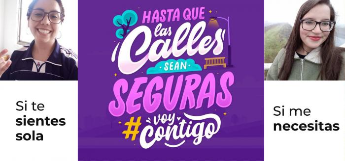 #VoyContigo: App de emprendedoras chilenas ayuda a mujeres en situaciones de emergencia ante violencia de género y acoso callejero