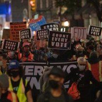 Protestas y arrestos de manifestantes en varias ciudades de EE.UU.