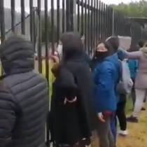 Protesta al exterior de la cárcel El Manzano de Concepción por situación de presos del estallido social