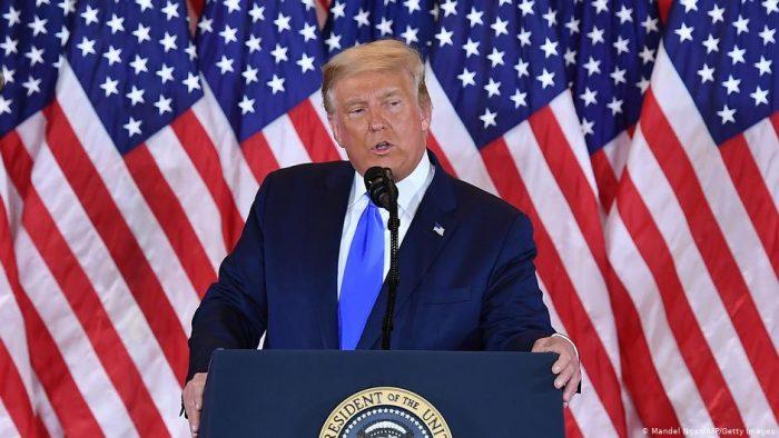 """Trump: """"Nosotros ganamos esta elección"""""""