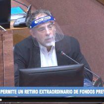 """Senador Girardi critica el """"travestismo político"""" del Gobierno y su proyecto de retiro de fondos: se aprovecha """"del sufrimiento de la gente"""""""