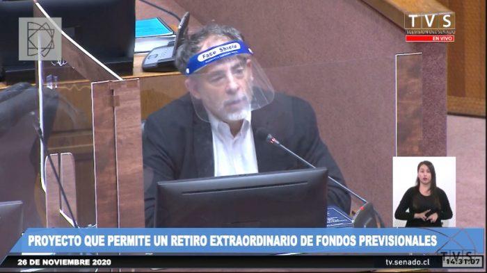Senador Girardi critica el