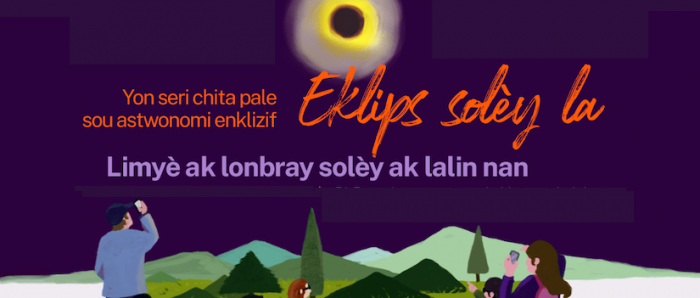 Charla astronómicaabordaráel Eclipse Total de Sol enidiomaCreolepara comunidadhaitiana