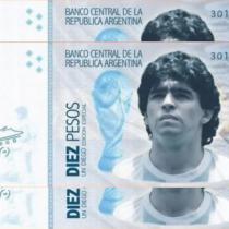 De la cancha al mercado: Proponen que billete de 10 pesos argentino lleve la cara de Diego Maradona