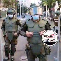 Carabineros deberá dar explicaciones a Contraloría por nuevo uniforme que impide identificar a los funcionarios