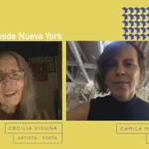 Artista visual Cecilia Vicuña en tercer conversatorio de Gallery Weekend Santiago