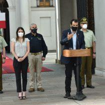 """Ministro Delgado evita entrar en el campo minado de Carabineros pero recalca el """"respeto irrestricto a los DD.HH."""""""