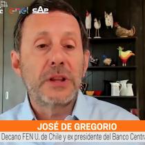 """José De Gregorio: """"La regla fiscal lleva años haciendo agua """""""