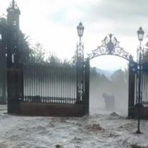 Argentina: Intenso temporal azota la provincia de Mendoza provocando la inundación de parques y calles