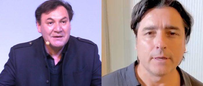 """Rodrigo Muñoz y Jorge Zabaleta presentan gratis su comedia teatral """"Madre hay una sola""""vía online"""