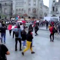 Se registran intensas manifestaciones luego de la destitución de Martín Vizcarra en Perú