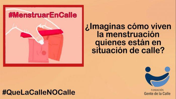 #MenstruarEnCalle: Fundación va en ayuda de personas de 11 comunas que viven su menstruación sin hogar