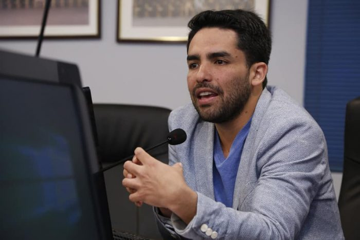 """Cristian Mella, candidato DC a las primarias: """"Estoy contento que el postulante se defina aquí en la Región de Valparaíso y no desde Santiago"""""""