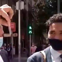 Mal día para Briones: ministro es increpado en la calle tras polémica por solicitud de datos de las personas que retiraron el 10% de las AFP