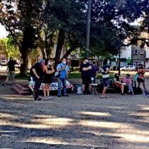 Asamblea del Barrio Yungay acusa hostigamiento de Carabineros tras control por congregarse en la plaza