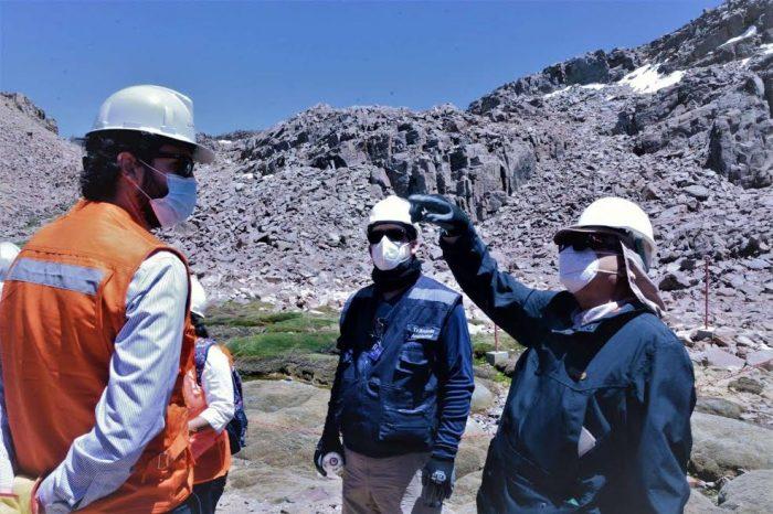 Segundo Tribunal Ambiental realizó inspección en mina Los Bronces, en demanda por daño ambiental del CDE contra Anglo American