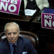 Hospitalizan al expresidente Carlos Menem, de 90 años, en Buenos Aires por una infección urinaria