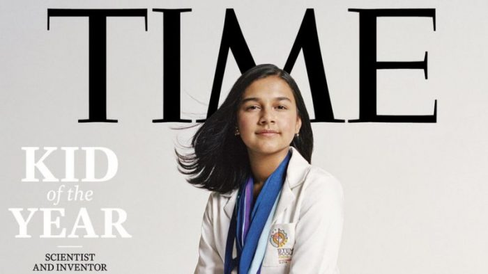 """Gitanjali Rao: quién es la primera """"Niña del Año"""" de la revista Time"""