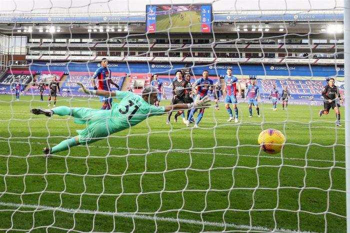 El Liverpool se da un festín (0-7) en su visita al Crystal Palace
