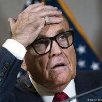 Rudy Giuliani, abogado de Trump, infectado de coronavirus