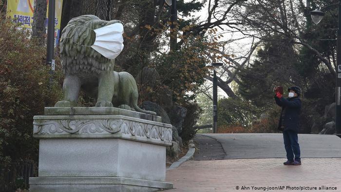 Corea del Sur detecta primeros casos de cepa británica de COVID-19