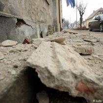 Terremoto provoca daños y pánico en Croacia