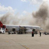Al menos 10 muertos: fuertes explosiones reciben al nuevo presidente en Yemen