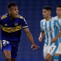 Racing de los chilenos quedó eliminado de la Copa Libertadores luego de caer con Boca Juniors
