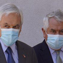 Ministro Paris se enoja y defiende al Presidente Piñera por no usar mascarilla: