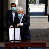 Piñera firma proyecto para combatir el crimen organizado con agentes encubierto, informantes e infiltrados