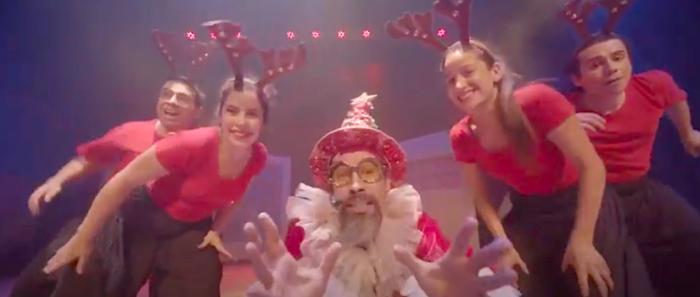 """Obra familiar """"Las Navidades De Scrooge"""" de Compañía de Teatro Ilimitada vía online"""