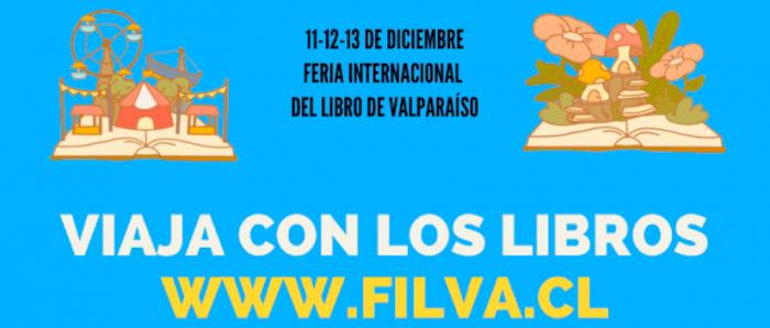 Feria internacional del libro de Valparaíso celebra su IV versión con la Región de Los Ríos como invitada