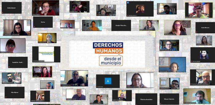 Proyecto inédito en Chile busca incorporar el enfoque de derechos humanos en la gestión municipal