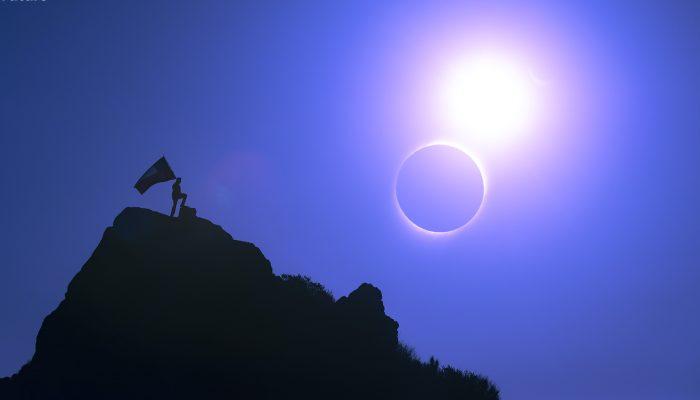 Una experiencia de bienestar en el eclipse total de sol