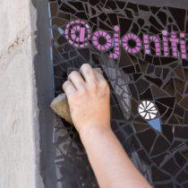 Ojonitido, el colectivo creador de mosaicos que recuerdan el Estallido