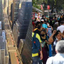 El enorme contraste cívico entre Chile y Nueva York en medio de la pandemia de COVID-19