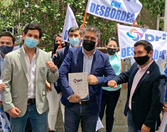 PRI oficializa su apoyo a Mario Desbordes como candidato presidencial