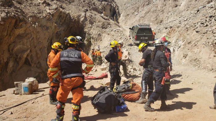 Rescataron a los dos mineros atrapados tras derrumbe en Tierra Amarilla
