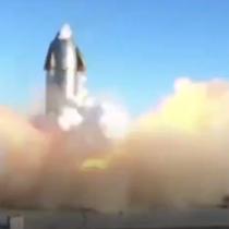 Prueba espacial sin éxito: Cohete sin tripulación explotó en una base en Texas segundos antes del aterrizaje