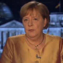 Angela Merkel y su mensaje de Año Nuevo: