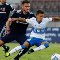 Magro empate sin goles entre Universidad de Chile y la UC en el Estadio Nacional