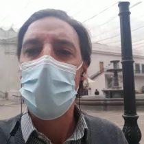 Desde La Moneda: Hernán Leighton comenta la trastienda a minutos de la salida oficial de Desbordes y Sichel