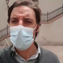 """""""Una salida con muchos fuegos artificiales"""": Hernán Leighton comenta la molestia de La Moneda con Mario Desbordes"""